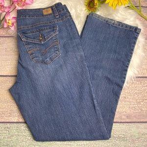 Bandolino Arianna Boot Cut Blue Denim Jeans 14